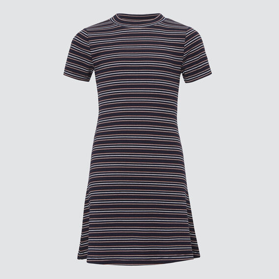 Rib Dress  MIDNIGHT MULTI  hi-res