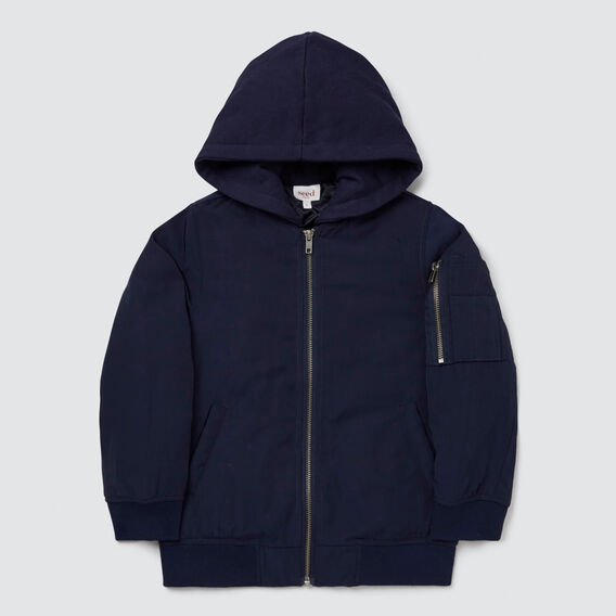 Bomber Jacket  MIDNIGHT BLUE  hi-res