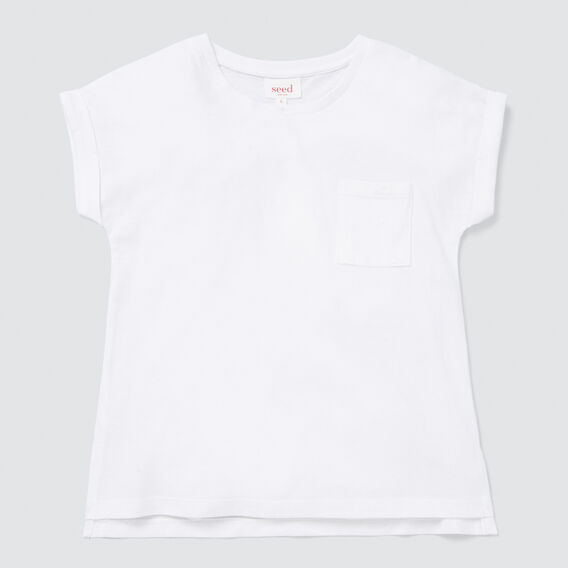Pocket Tee  WHITE  hi-res