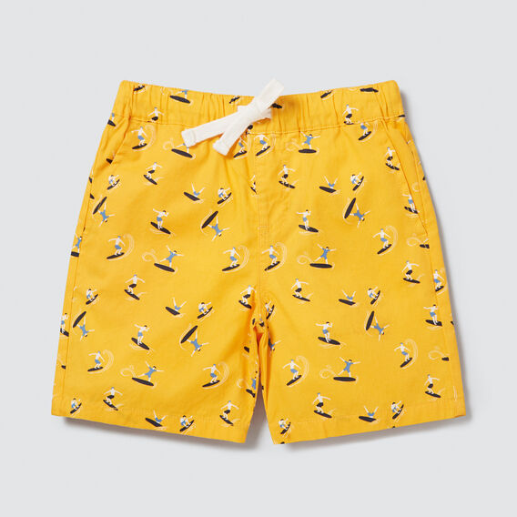 Surfer Yardage Short  SUNSHINE YELLOW  hi-res