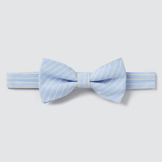 Stripe Bow Tie  CHAMBRAY  hi-res
