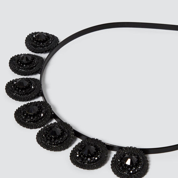 Intricate Detail Crown  BLACK  hi-res