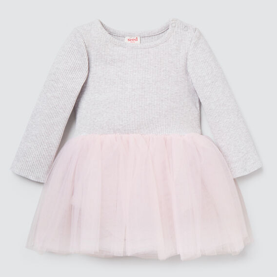 Rib Tutu Dress  CLOUD/ICE PINK  hi-res