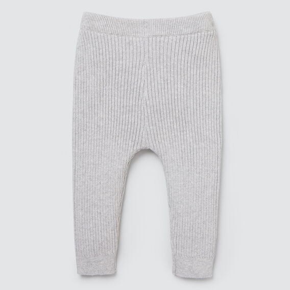 Rib Knit Legging  CLOUD  hi-res