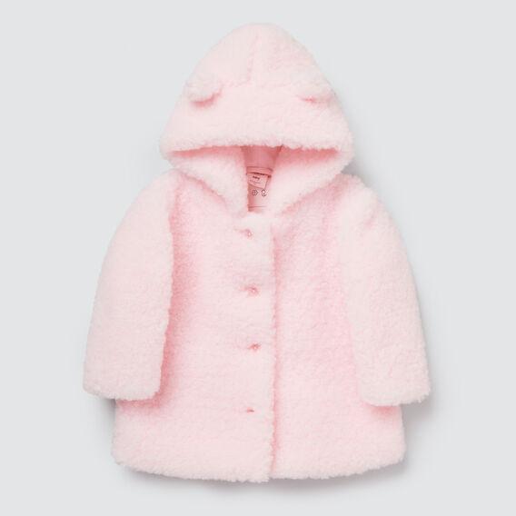Teddy Coat  ICE PINK  hi-res