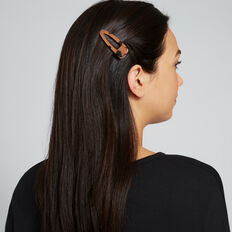 Tort Hair Clip Pack  TORT  hi-res