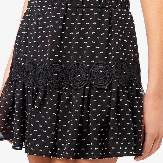 Dobby Skirt  MULTI  hi-res