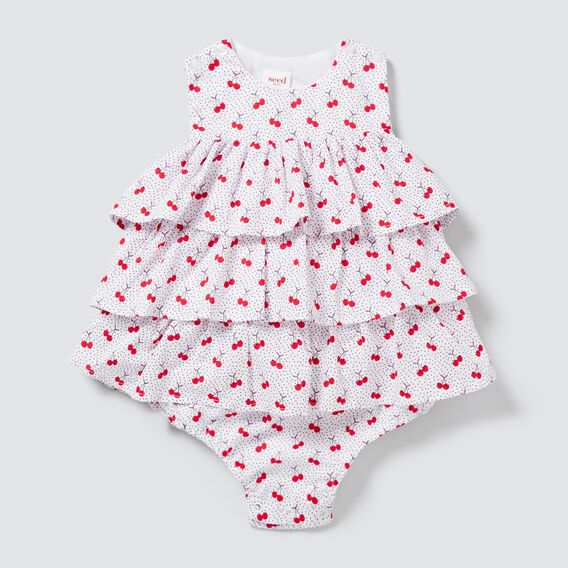 Cherry Spot Romper  MULTI  hi-res