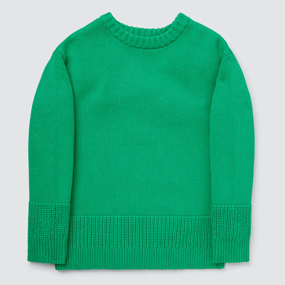 Chunky Sweater  APPLE GREEN  hi-res