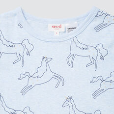 Unicorn Long Sleeve Pyjamas  BLUE MARLE  hi-res