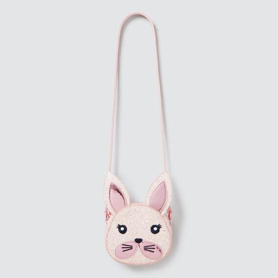 Glitter Bunny Bag  PINK  hi-res