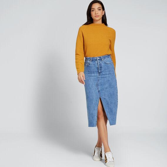 Textured Sweater  MUSTARD TWIST  hi-res