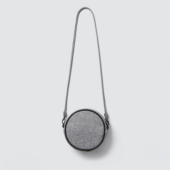 Perforated Circle Bag  GREY  hi-res