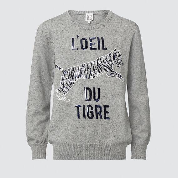 Tiger Sweater  MIDNIGHT MARLE  hi-res