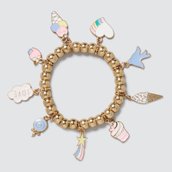 Charm Bracelet  GOLD  hi-res