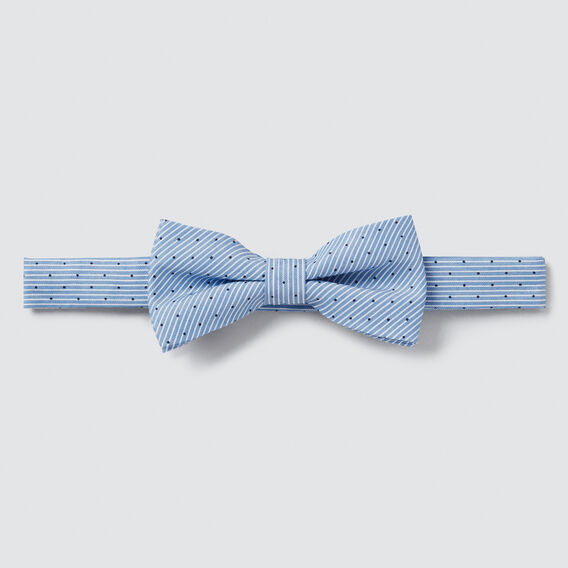 Stripe Dot Bow Tie  PALE BLUE  hi-res