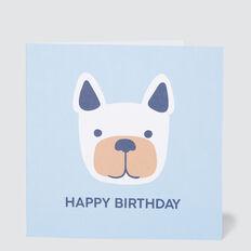 Large Dog Card  MULTI  hi-res