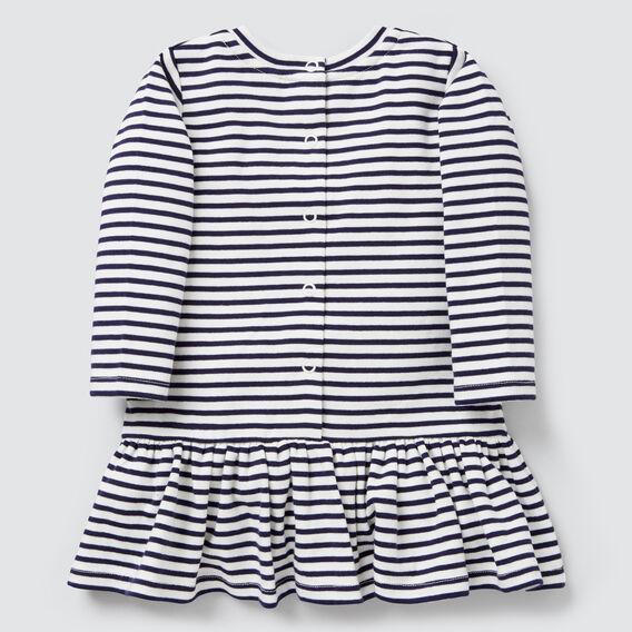 Stripe Rugby Dress  NAVY/CANVAS  hi-res