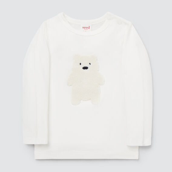 Chenille Bear Tee  CANVAS  hi-res