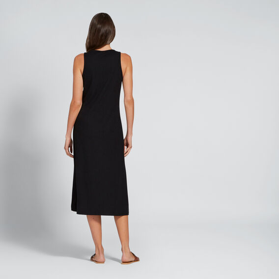 Rib Jersey Dress  BLACK  hi-res