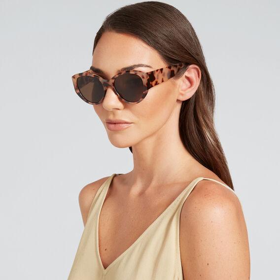 Kristen Oval Sunglasses  MILKY TORT  hi-res