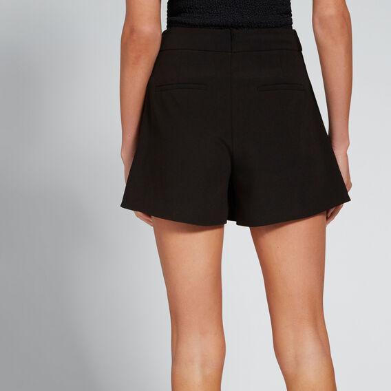 Side Notch Short  BLACK  hi-res