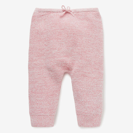 Speckle Knit Harem Pant  DUSTY PINK  hi-res