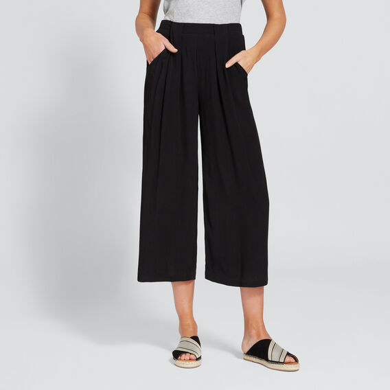 Casual Soft Pant  BLACK  hi-res
