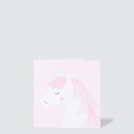 Small Horse Card  MULTI  hi-res
