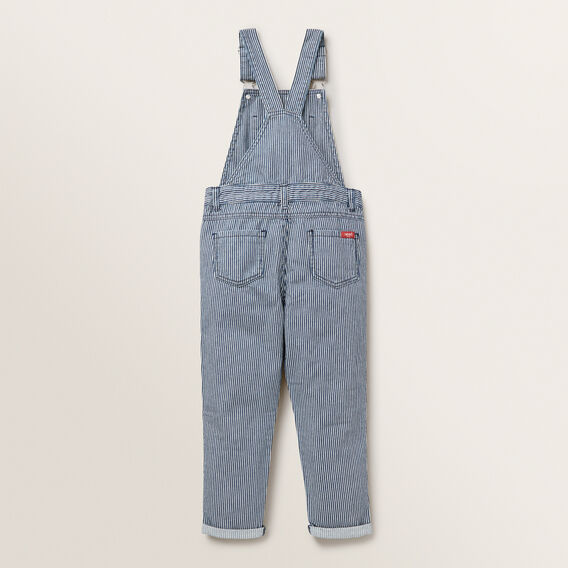 Railroad Stripe Dungarees  MIDNIGHT BLUE  hi-res