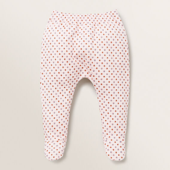 Floral Footed Legging  BUBBLEGUM  hi-res