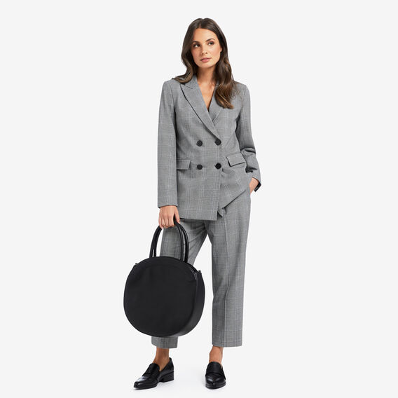 Double Breasted Blazer  CHECK  hi-res