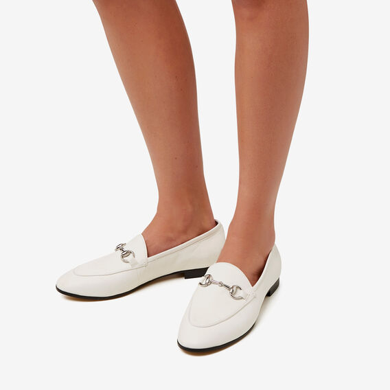 Natalie Loafer  WHITE  hi-res