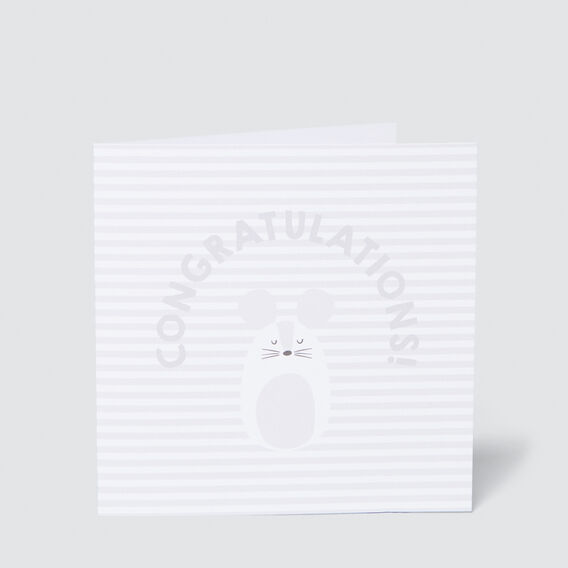 Large Congratulations Card  MULTI  hi-res