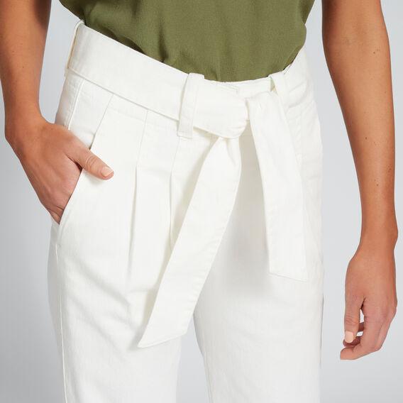 Paperbag Slim Pant  BISQUE  hi-res