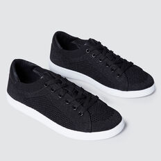 Sarah Knit Sneaker  BLACK SPARKLE  hi-res