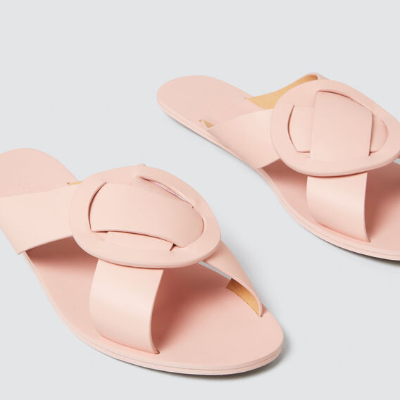 Mabel Circle Slide  PEACH NOUGAT  hi-res