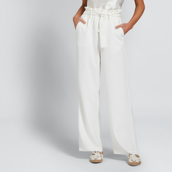 Paperbag Tie-Up Pant  CLOUD CREAM  hi-res