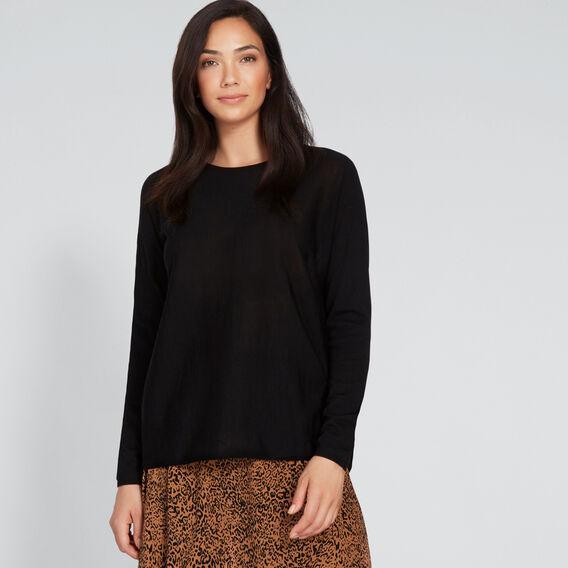 Babywool Sweater  BLACK  hi-res