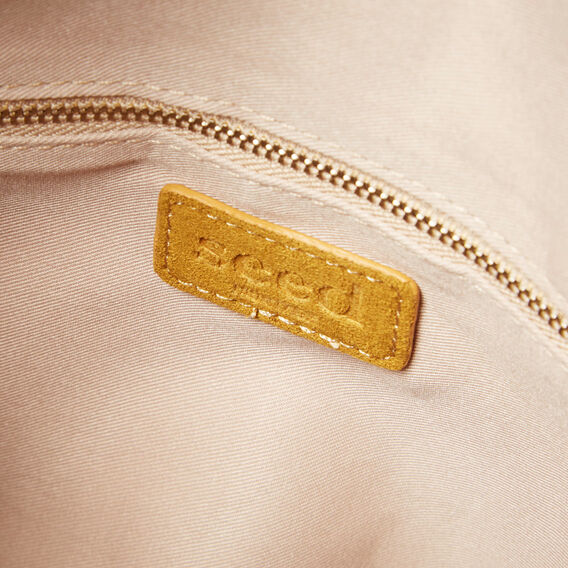 Margot Fold Over Clutch  GOLDEN MUSTARD  hi-res