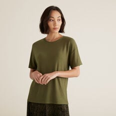 Drop Shoulder Tee  RICH OLIVE  hi-res
