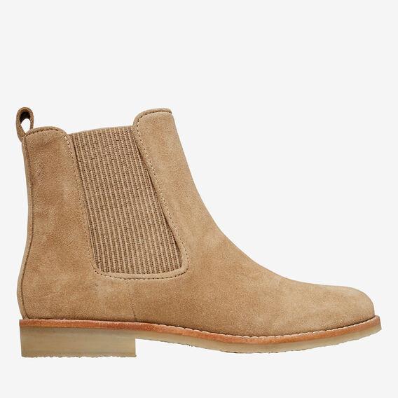 Arlo Flat Gusset Boot  SAND  hi-res
