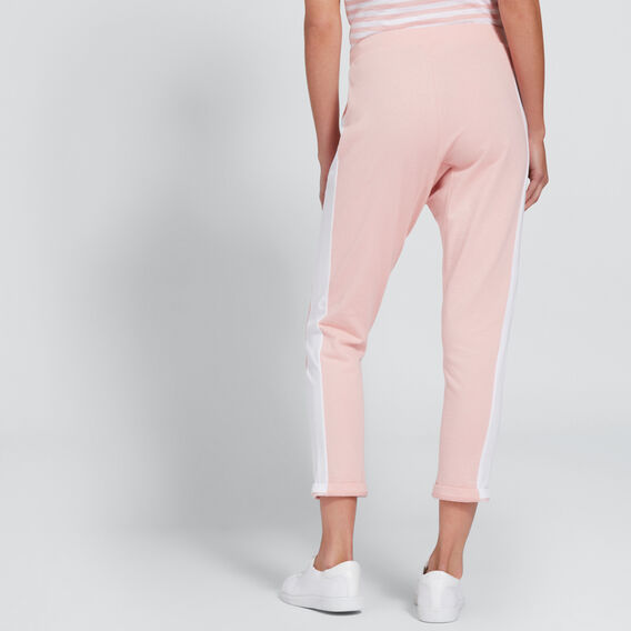 Side Stripe Harem Pant  SUNSET PINK  hi-res