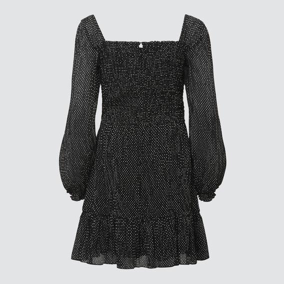 Chiffon Dress  BLACK  hi-res