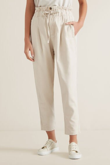 Paper Bag Casual Pant by Seed Heritage