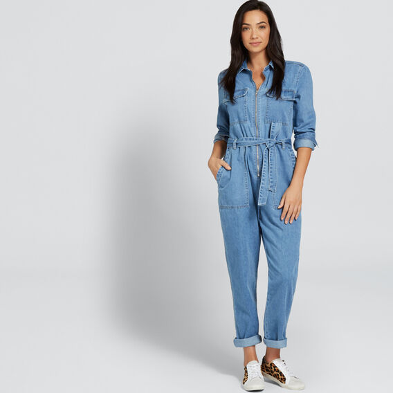 Denim Jumpsuit  CLASSIC DENIM  hi-res