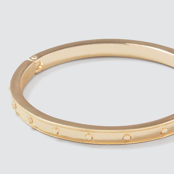 Studded Bangle  GOLD  hi-res