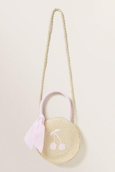 Mini Round Basket  NATURAL  hi-res