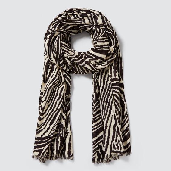 Zebra Print Scarf  ZEBRA  hi-res