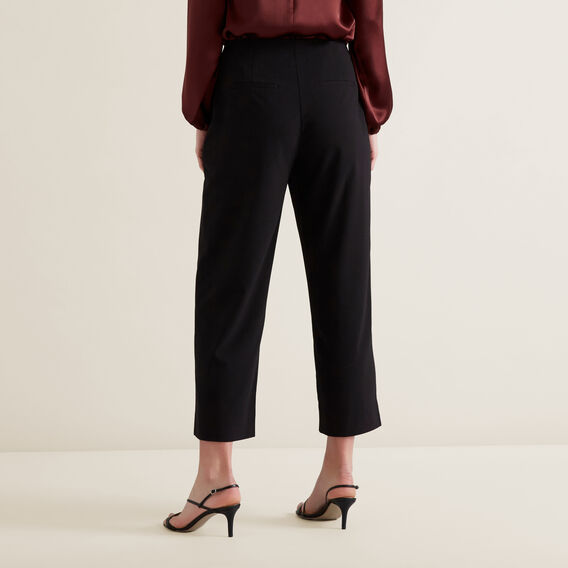 Straight Leg Pants  BLACK  hi-res